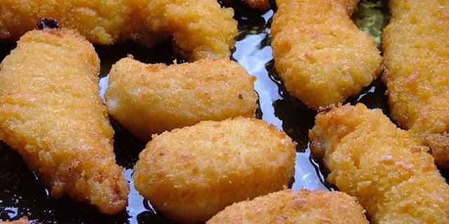 Resep hari ini: Masakan Nugget Ayam Jamur Spesial