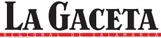 Periódico La Gaceta de Salamanca