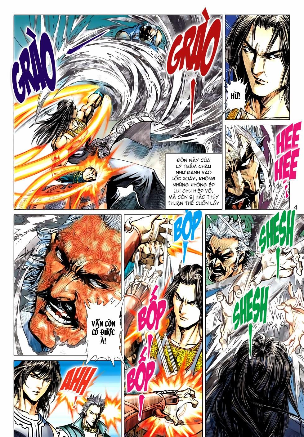 Thần Châu Kỳ Hiệp chap 32 – End Trang 4 - Mangak.info