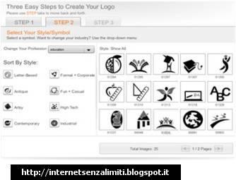Come creare loghi online con logosnap internet senza limiti for Creare progetti online