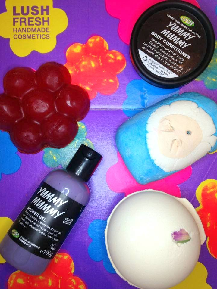 Mother's Day 2015 at Lush Cosmetics