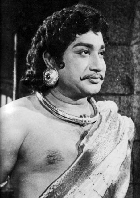 Shivaji Ganesan in 'Saraswathi Sabatham' movie