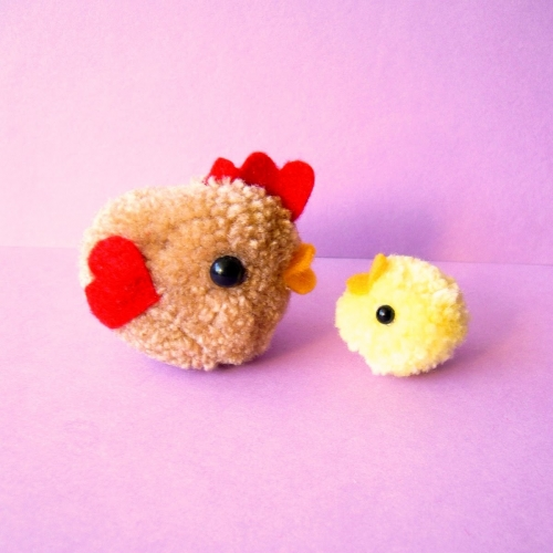 Restless minds super cute wool pom pons for Cute pom pom crafts