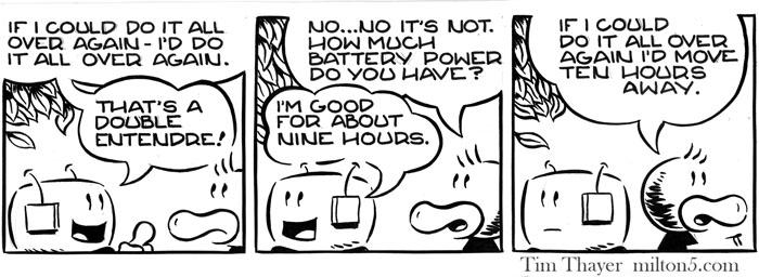 Milton Five point oh online comic