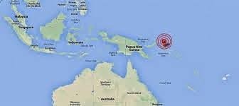 TERREMOTO 7,5 GRADOS PAPUA NUEVA GUINEA, 19 DE ABRIL 2014