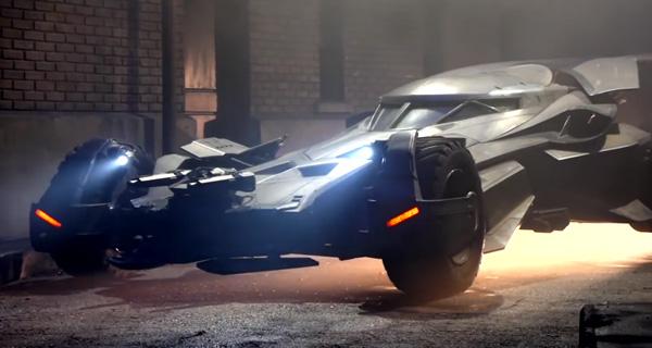 """Detalles Batmóvil de """"Batman V Superman: Dawn of Justice"""""""