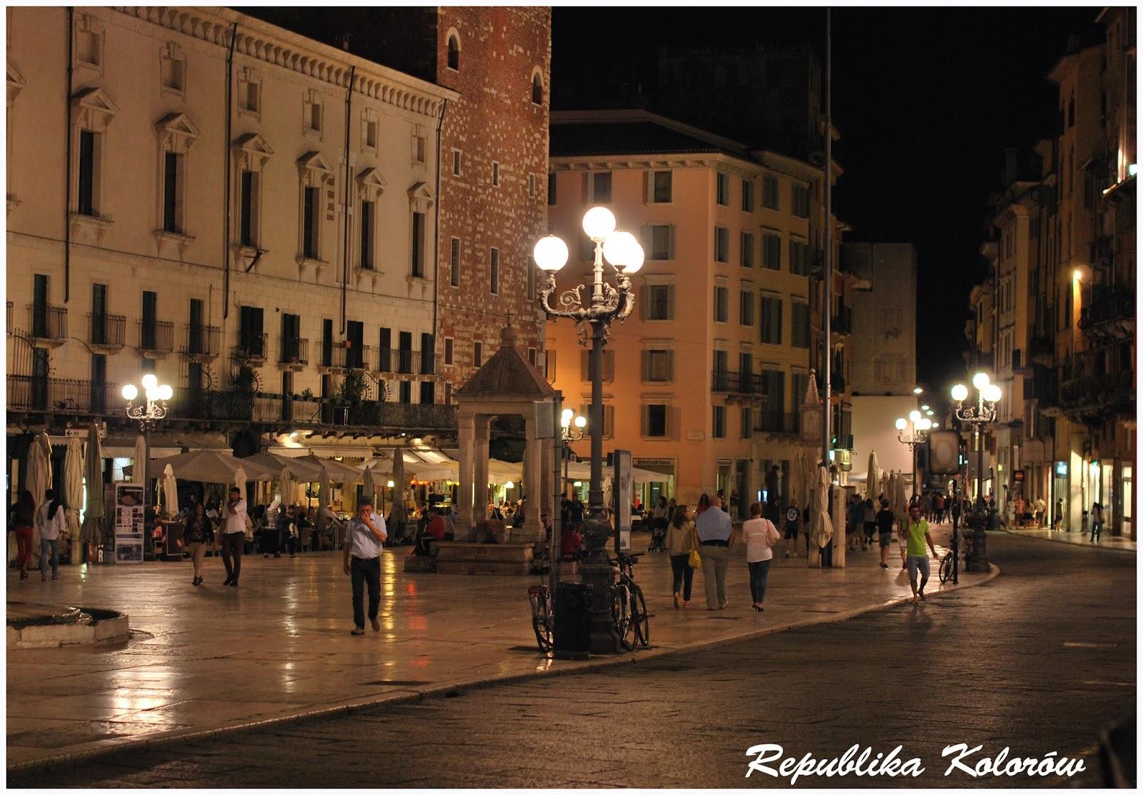 Werona nocą