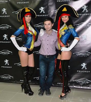 Кадыров Русфет. Презентация Peugeot 408 в автосалоне Автодель в Симферополе.