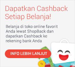 Ambil Cashbackmu!