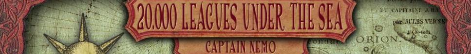 20.000 Leghe sotto i Mari:Capitano Nemo | 20.000 Leagues Under the Sea: Captain Nemo