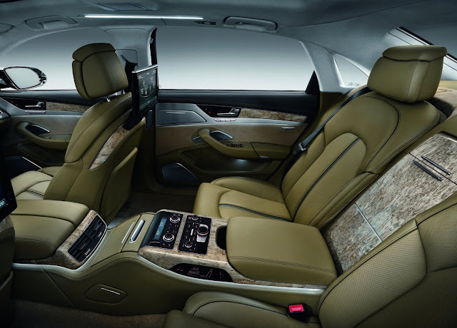 Audi A8 L interiors HD Wallpaper