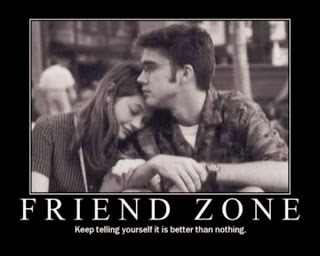 blog friend zone with woman