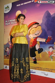 Bollywood Actress Kajol at Mighty Raju Rio Calling Promotion  0022