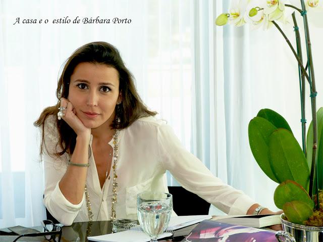 A casa e o estilo de Bárbara Porto