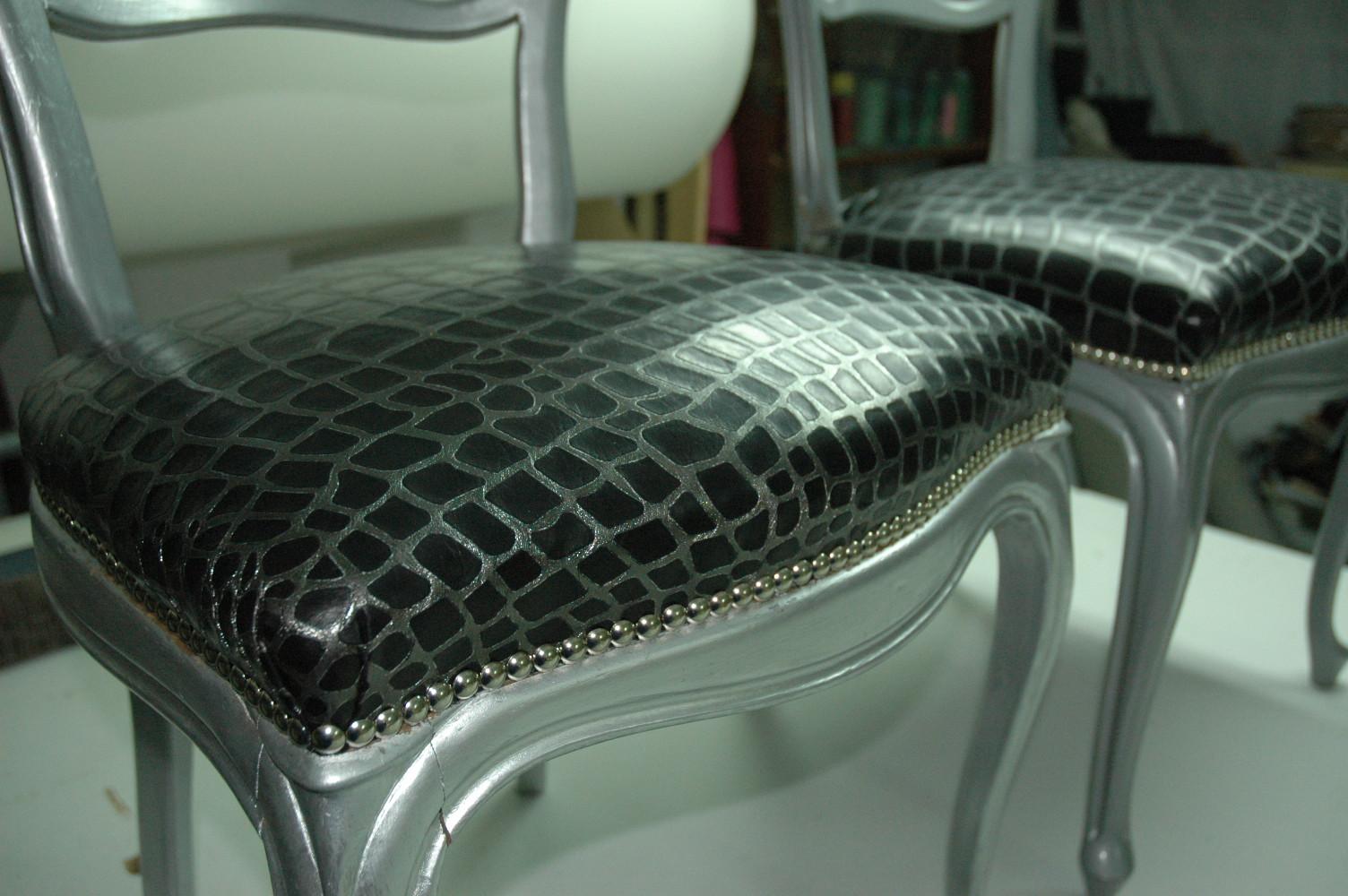 Tap zame isabelinas de ciencia ficci n - Como tapizar sillas antiguas ...
