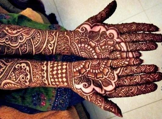 Mehendi Ceremony S Free Download : Bridal mehndi designs lovely henna art