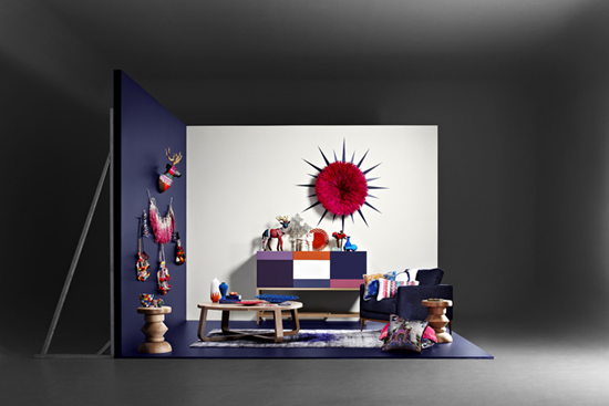 Safari Fusion blog | Dulux + Safari Fusion | Dulux United by Style: Translating runway fashion into colourful eclectic interiors