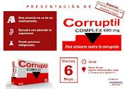 Presentación en Segovia CORRUPTIL 6M