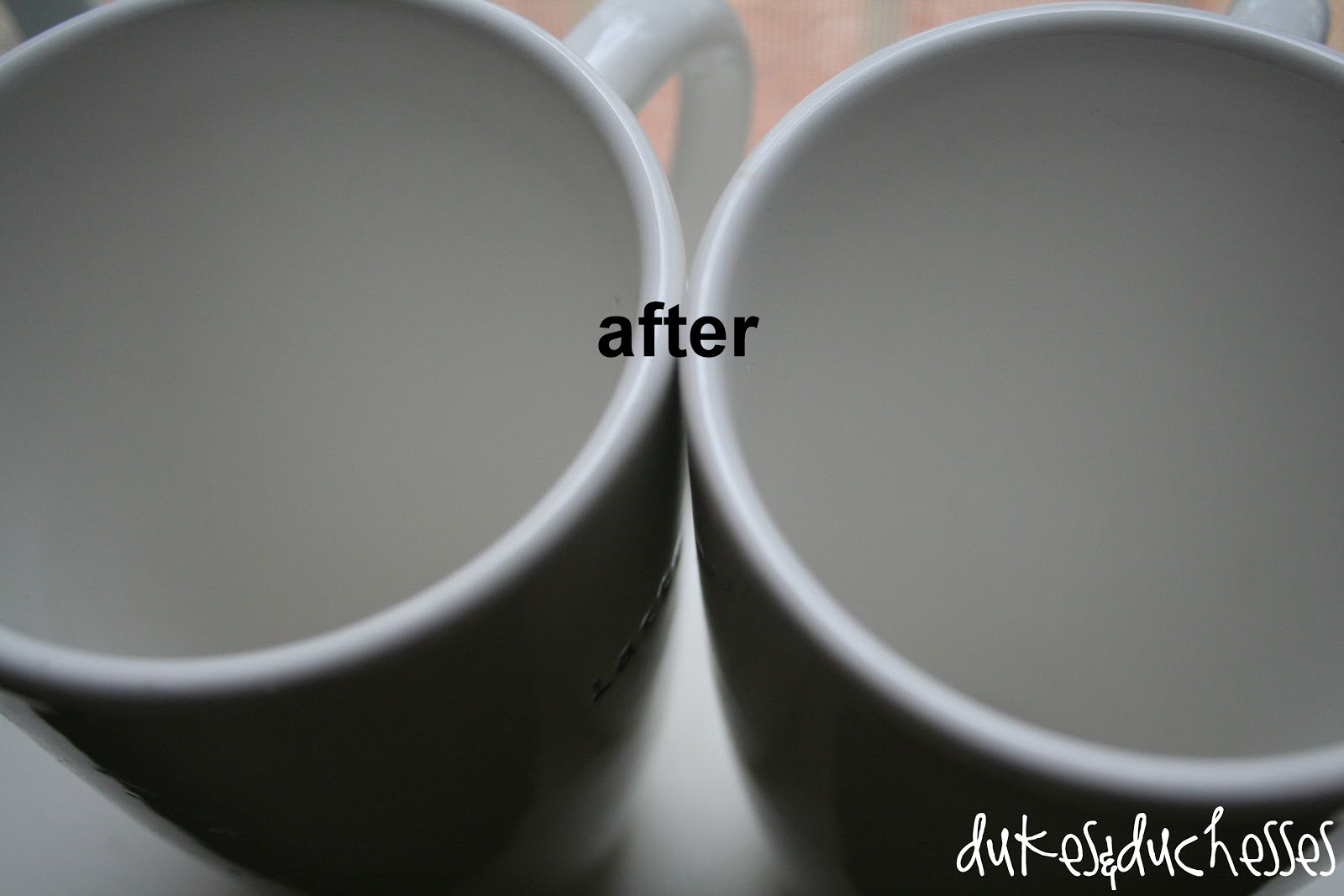 how to clean coffee mug with vinegar