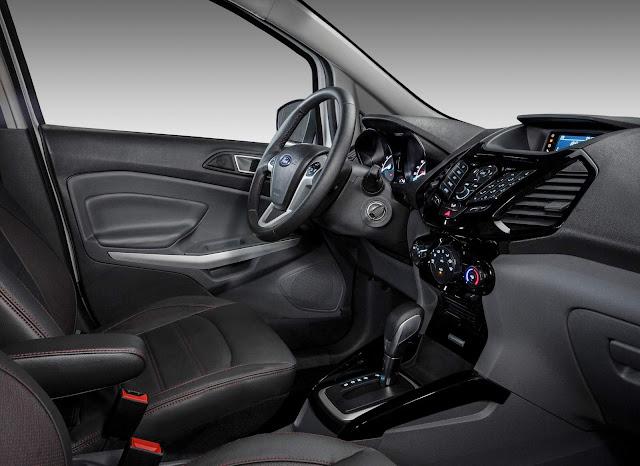 Novo Ford Ecosport 2016 - interior