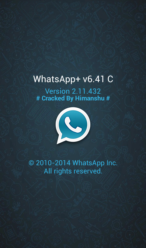 بلس6.41C WhatsApp PLUS 6.41C 2014,2015 Whatsapp++v6.41C