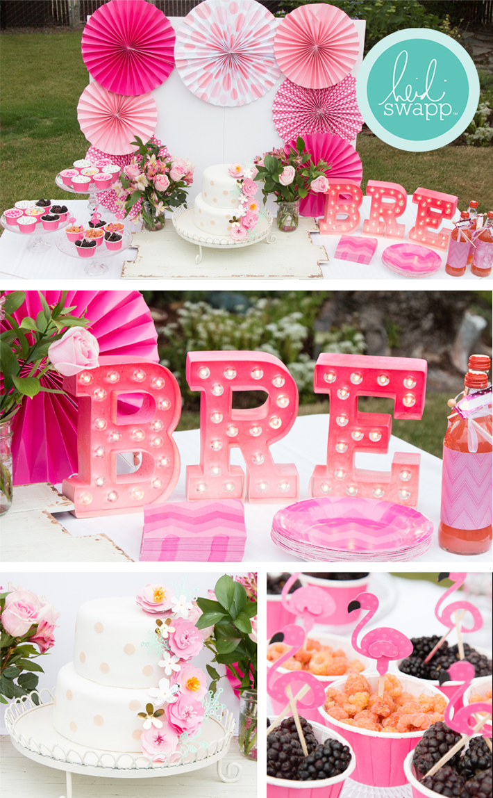 My daughter's birthday was so much fun and all the custom handmade touches made it special! @heidiswapp @createoften