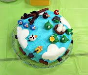 Angry Birds Cake (from scratch)John's 6th Birthday