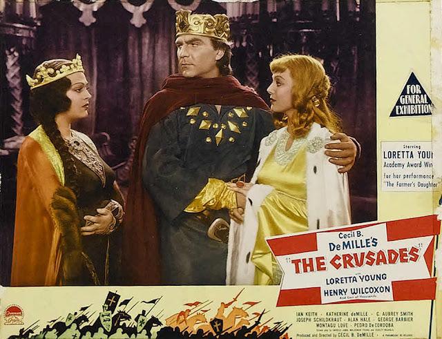 THE CRUSADES 1935  LORETTA YOUNG HENRY WILCOXON