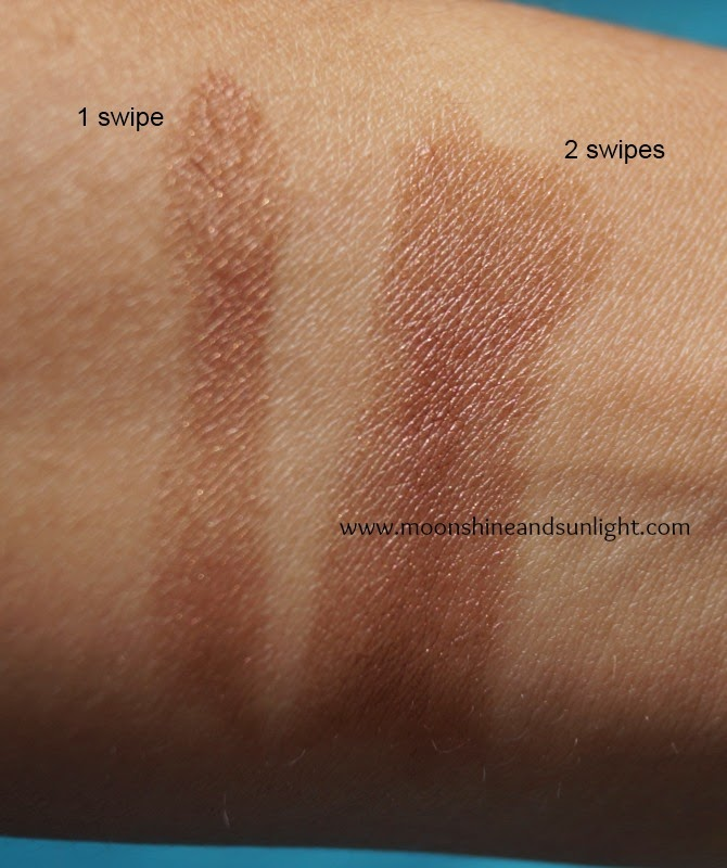 Street Wear Color Rich Ultramoist Lipstick in Chic Cappucino (14)  Review and Swatches