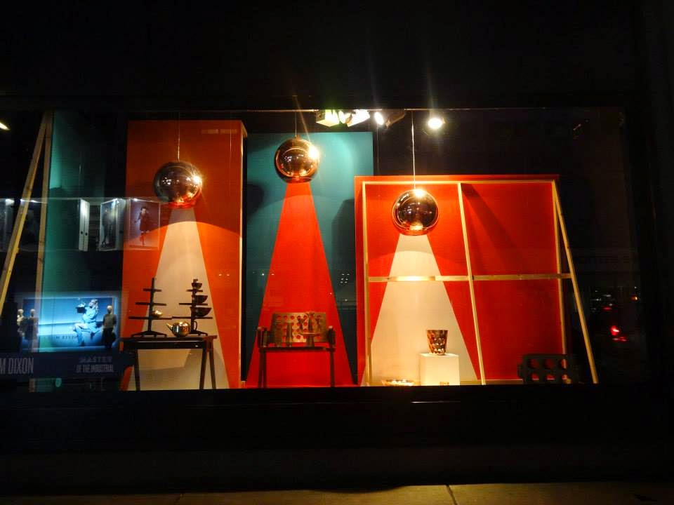 Selfridges Shop Window 2014 jul-aug Tom Dixon - Master of the Industrial