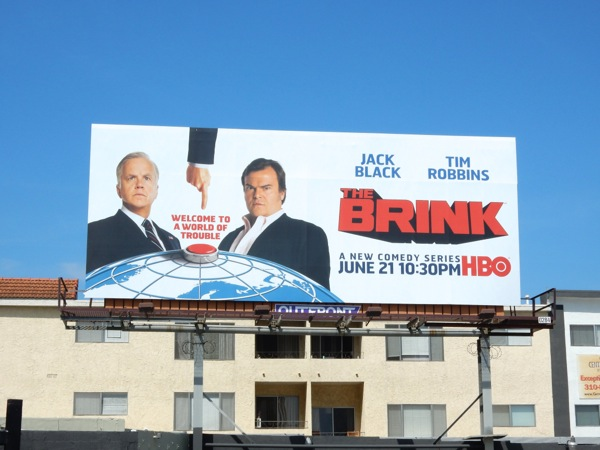 The Brink series premiere billboard