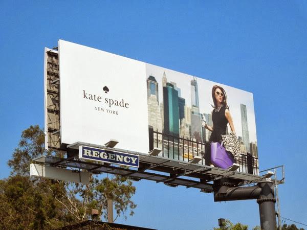 Kate Spade New York FW 2013 billboard