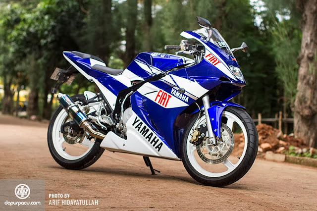 Foto Modifikasi Yamaha Scorpio 2010 Model M1