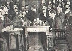 Lasker (blanques) - Steinitz. 1894.