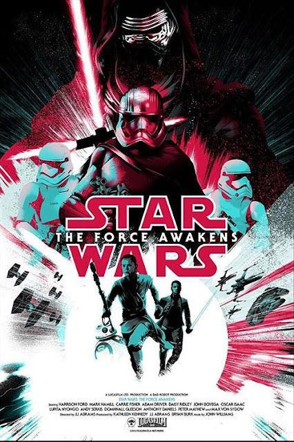 Star Wars: The Force Awakens Screen Print by Matt Taylor x Mondo