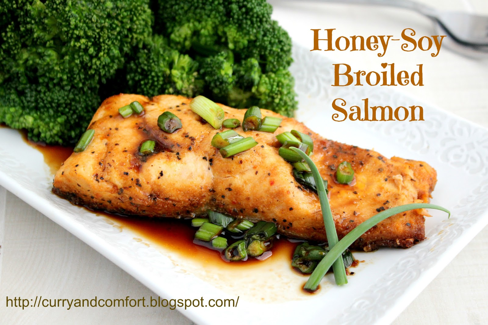 Kitchen Simmer: Honey Soy Glazed Salmon