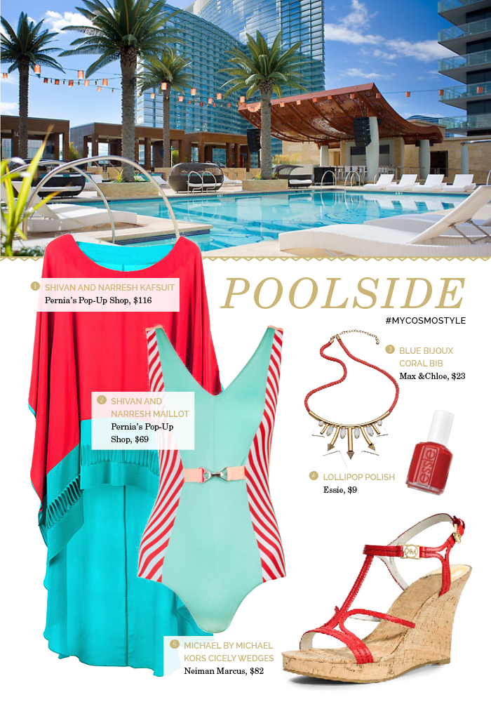 #MyCosmoStyle Poolside | Bangles and Bungalows