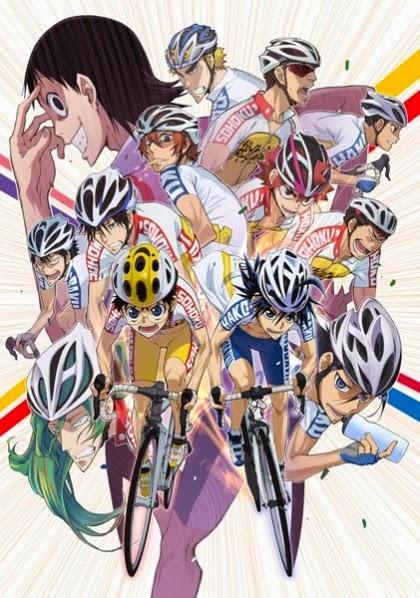 El blog de SushiGeek   Segunda temporada de Yowamushi Pedal en octubre