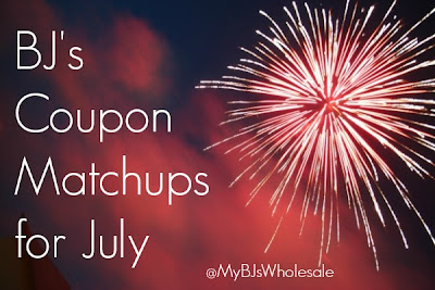 BJ's Coupon Matchups for July