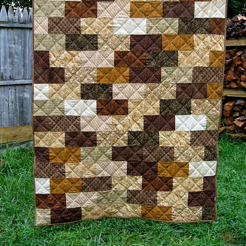The Brick Wall Quilt