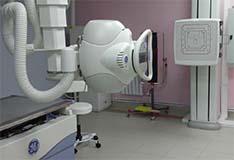 Современный цифровой рентгеновский диагностический кабинет с низкой лучевой нагрузкой