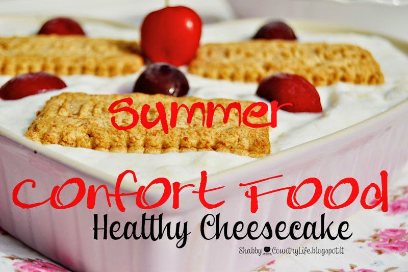 Summer Healthy Cheesecake!