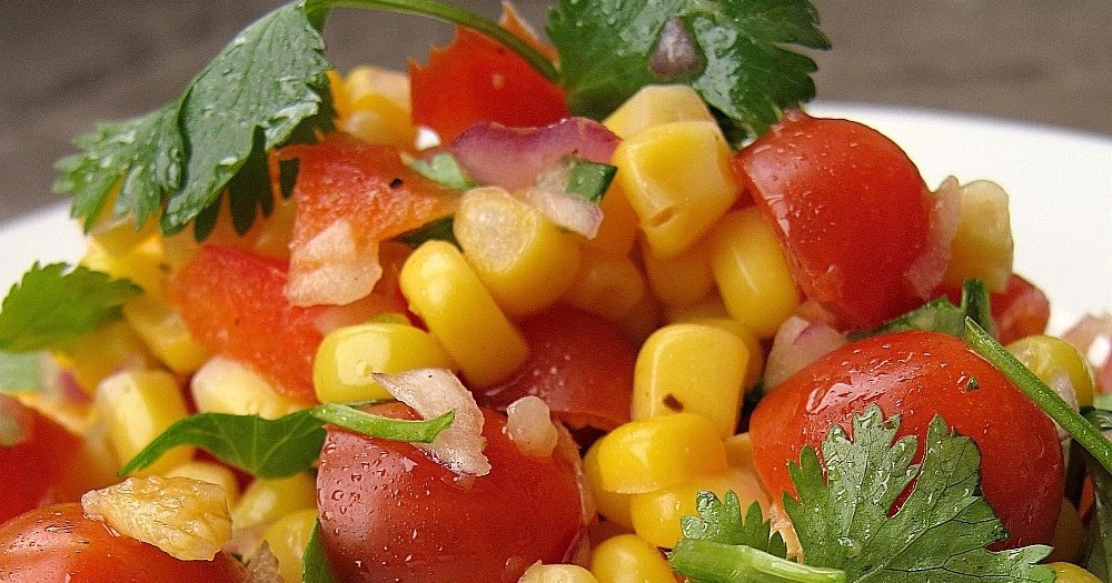 The most delicious corn salad international food recipes for The most delicious recipes