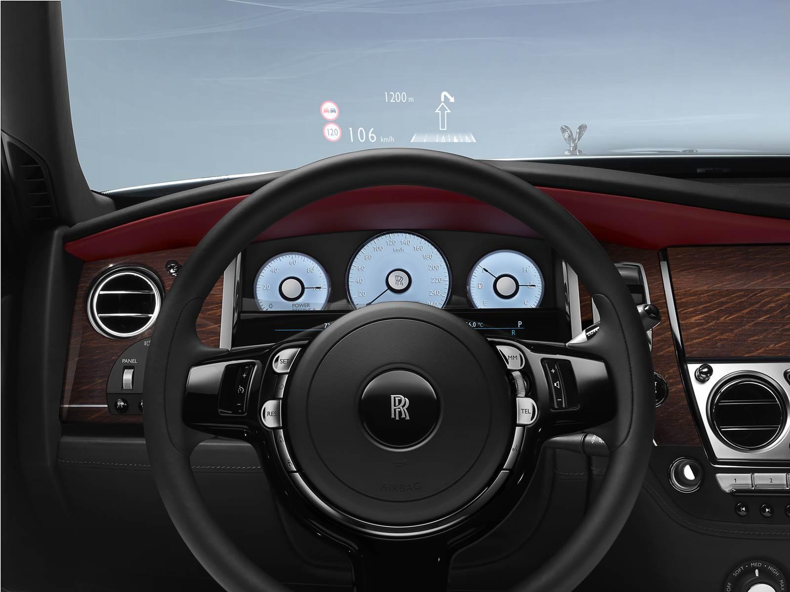 Rolls Royce Ghost Série II - painel