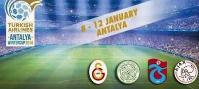 Galatasaray devre arasında turnuvaya katılacak..