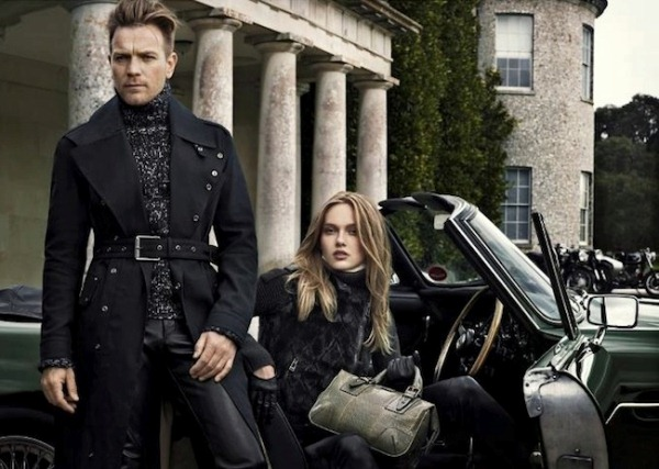 Model Ewan McGregor for Belstaff F/W 2012-2013