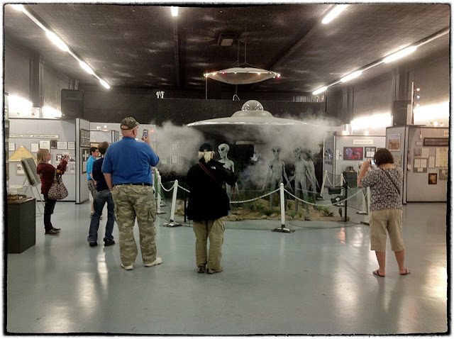 UFO museum, Roswell, USA