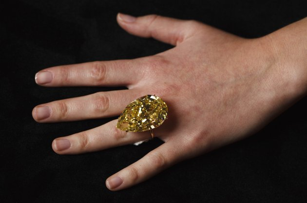 World's Largest Yellow Diamond