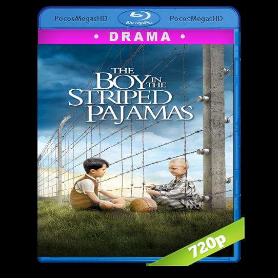 El niño con el pijama de rayas (2008) BrRip 720p Latino/inglés AC3+subs