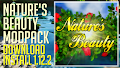 HOW TO INSTALL<br>Nature&#39;s Beauty Modpack [<b>1.12.2</b>]<br>▽